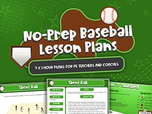 No Prep Baseball Lesson Plans
