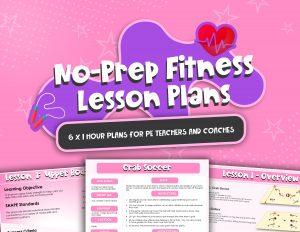 No Prep Fitness Lesson Plans