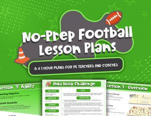 No Prep Football Lesson Plans