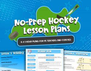 No Prep Hockey Lesson Plans