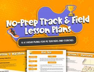 No Prep Track & Field Lesson Plans